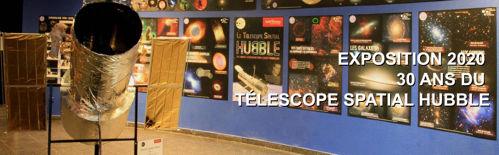 Exposition 2020, le télescope spatial Hubble